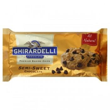 Ghirardelli Chocolate Chips Semi-Sweet Chocolate