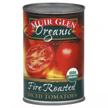 Muir Glen Tomatoes Diced Fire Roasted Organic