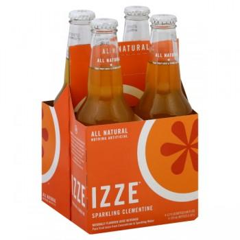 IZZE Sparkling Clementine Juice - 4 pk
