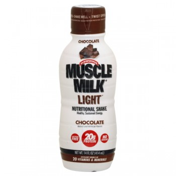 Muscle Milk Chocolate Nutritional Shake Light RTD