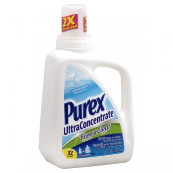 Purex 2X Ultra Concentrated Liquid Laundry Detergent Free & Clear