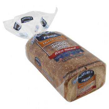 Nature's Pride OvenClassics Bread Honey Wheat with Fiber 100% Natural