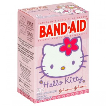 Johnson & Johnson Band-Aid Bandages Hello Kitty Assorted