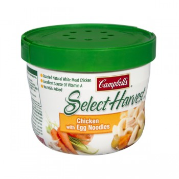 Campbell's Select Harvest Soup Bowl Chicken with Egg Noodles
