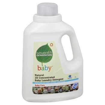 Seventh Generation Natural Baby 2X Concentrated Liquid Laundry Detergent