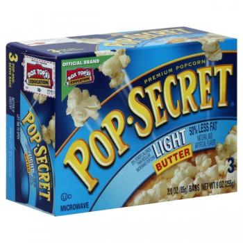 Pop Secret Microwave Popcorn Light Butter