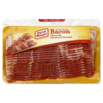 Oscar Mayer Bacon Naturally Hardwood Smoked - 24 ct