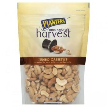 Planters Harvest Cashews Jumbo 100% Natural