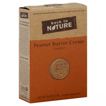 Back to Nature Cookies Peanut Butter