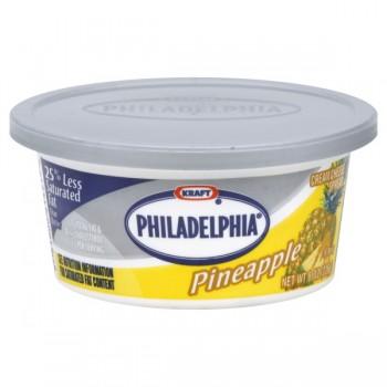 Kraft Philadelphia Cream Cheese Spread Pineapple
