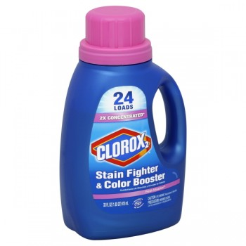 Clorox 2 Stain Fighter & Color Booster Liquid Formula Fresh Meadow