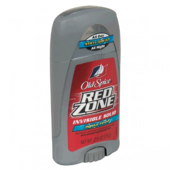Old Spice Red Zone Antiperspirant Deodorant Aqua Reef Invisible Solid