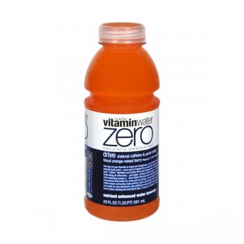 Glaceau Vitamin Water Zero Drive Blood Orange-Mixed Berry Flavored