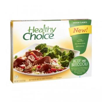 Healthy Choice Beef & Broccoli