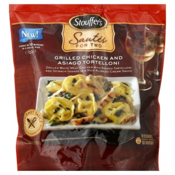 Stouffer's Sautes for Two Grilled Chicken & Asiago Tortelloni