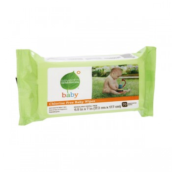 Seventh Generation Baby Wipes Unscented Aloe & Vitamin E Refill
