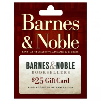 $25 Barnes & Noble Gift Card
