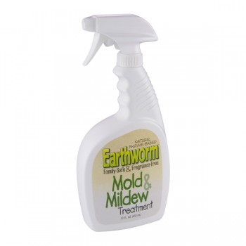 Earthworm Mold & Mildew Treatment Family Safe Fragrance Free Trigger Spray