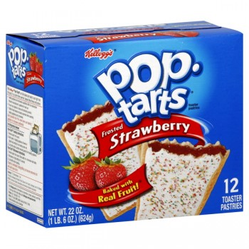 Kellogg's Pop-Tarts Frosted Strawberry - 12 ct