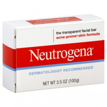 Neutrogena Facial Cleansing Bar Acne Prone Skin Formula
