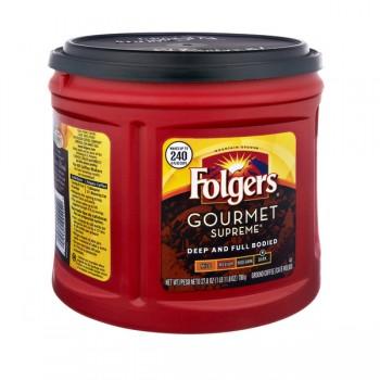 Folgers Gourmet Supreme Dark Roast Coffee (Ground)