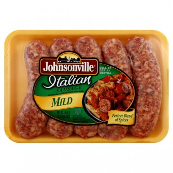 Johnsonville Fresh Grillin' Sausage Italian Mild - 5 ct