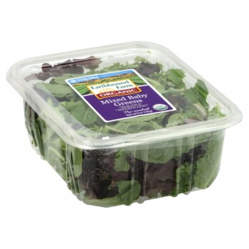 Salad Earthbound Farm Mixed Baby Greens Organic