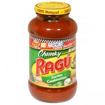 Ragu Chunky Pasta Sauce Garden Combination
