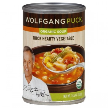 Wolfgang Puck's Soup Thick Hearty Vegetable Organic