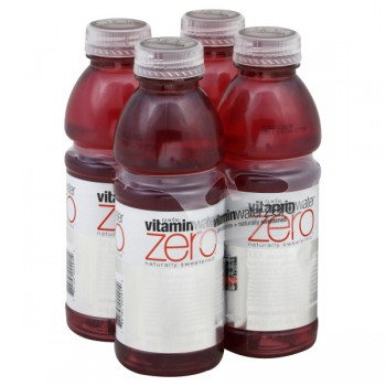 Glaceau Vitamin Water Zero XXX Acai, Blueberry & Pomegranate - 4 pk