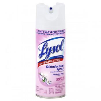 Lysol Disinfectant Jasmine & Rain Aerosol Spray