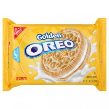 Nabisco Oreo Cookies Golden Original Creme