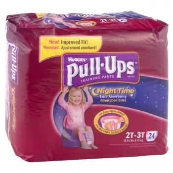 Huggies Pull-Ups Night Time Training Pants 2T-3T Girls - 18-34 lbs
