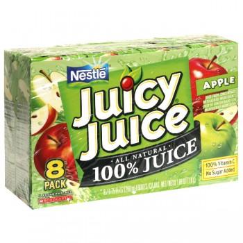 Nestle Juicy Juice 100% Apple Juice - 8 pk