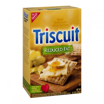 Nabisco Triscuit Crackers Baked Whole Grain Reduced Fat