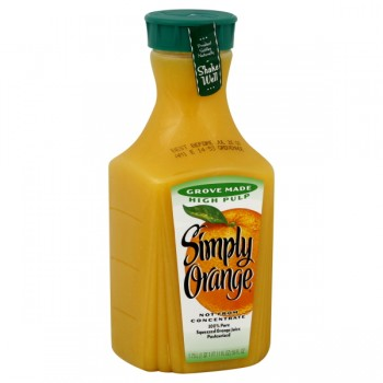 Simply Orange Orange Juice Grove Made High Pulp