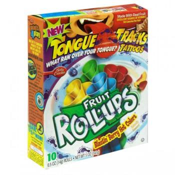 Betty Crocker Fruit Roll-Ups Blastin' Berry Hot Colors - 10 ct
