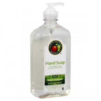 Earth Friendly Hand Soap Lemongrass Organic Pump