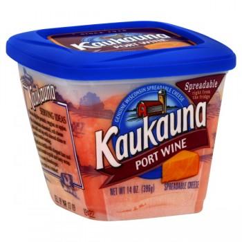 Kaukauna Cheese Spread Port Wine