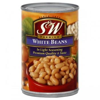 S & W Beans Small White Premium