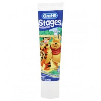Oral-B Kids Toothpaste Winnie the Pooh Fruity Bubblegum Flavor
