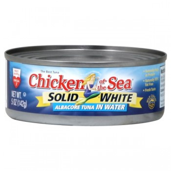Chicken of the Sea Tuna Solid White Albacore in Spring Water