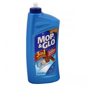 Mop & Glo Floor Cleaner 3-in-1 Ideal for Wood, Vinyl & Tile Squirt Bottle