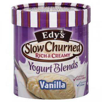 Dreyer's/Edy's Slow Churned Rich & Creamy Yogurt Blends Vanilla