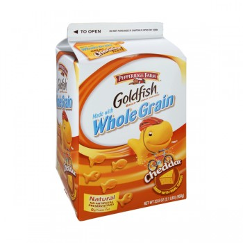 Pepperidge Farm Goldfish Crackers Cheddar Cheese Whole Grain