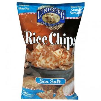 Lundberg Rice Chips Gluten Free Sea Salt