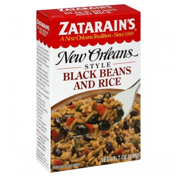 Zatarain's New Orleans Style Rice with Beans Black