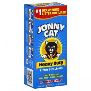 Jonny Cat Litter Box Liners Drawstring Jumbo