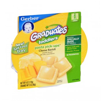 Gerber Graduates for Toddlers Pasta Pick-Ups Ravioli Cheese