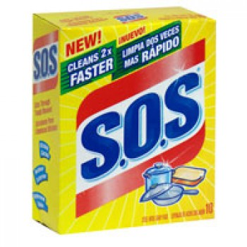 S.O.S. Soap Pads Steel Wool